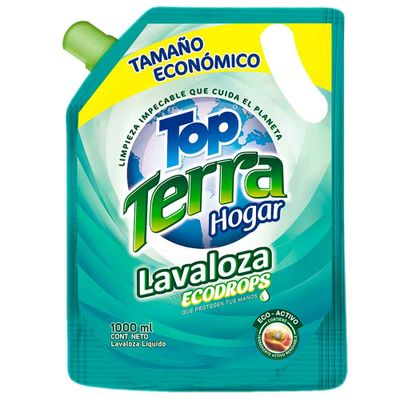 Lavaplatos-liquido-TOP-TERRA-ecologico-doy-pack-x1000ml_36332
