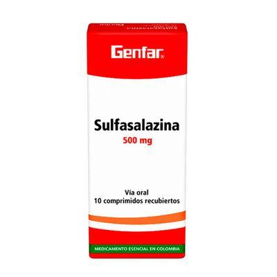 Sulfasalazina-GENFAR-500mg-x10tabletas_43859