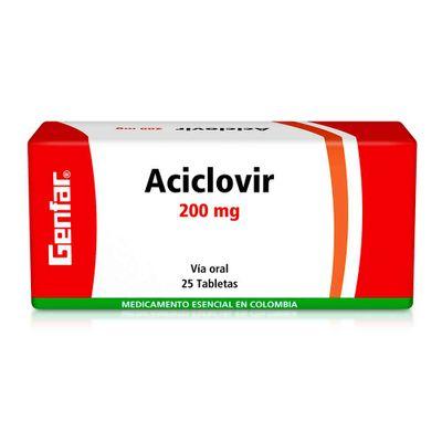 Aciclovir-GENFAR-200mg-x25tabletas_26589