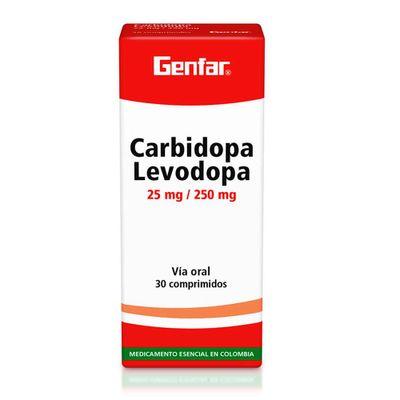 Carbidopa-GENFAR-levopora-25-250mg-x30tabletas_26421