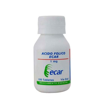 Acido-folico-ECAR-1mg-x100tabletas_10676
