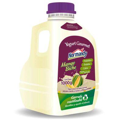 Yogurt-NORMANDY-mango-biche-x1000g_116001