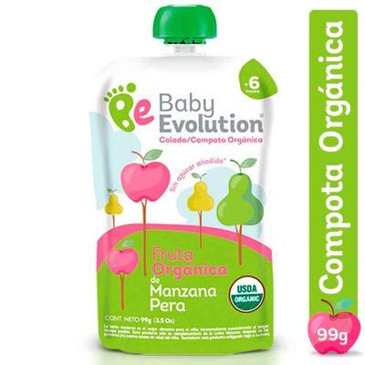 Compota-organica-BABY-EVOLUTION-manzana-pera-x99g_36799