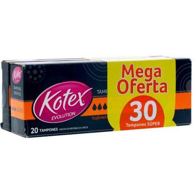 Tampon-KOTEX-super-20-10-tampones_40529