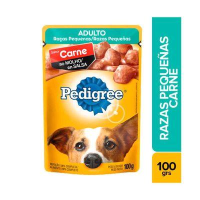 Alimento-para-perro-PEDIGREE-adulto-razas-pequenas-sabor-carne-en-salsa-x100-g_64107