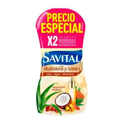 Shampoo-SAVITAL-multioleos-x550ml-acondicionador-x530ml-precio-especial_118740