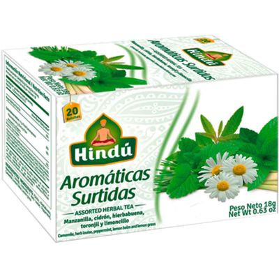 Aromatica-HINDU-surtida-x20-sobres_22753