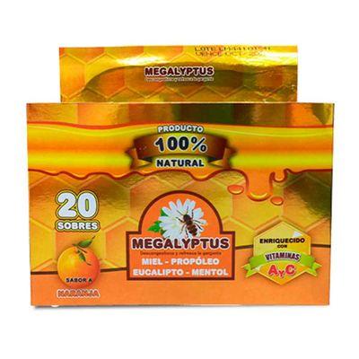 Megalyptus-COMERLAT-x4pastillas-naranja-20-unidades_73579