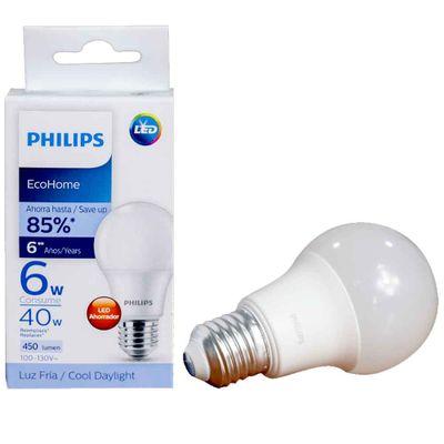 Bombillo-PHILIPS-eco-home-led-bulb-6w_118703