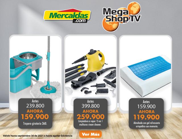 Mega shop 01 al 30 septiembre